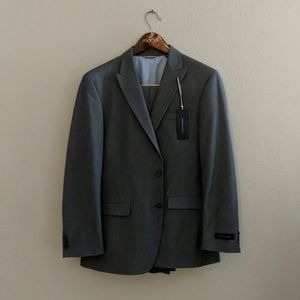 Men's fitted work suit